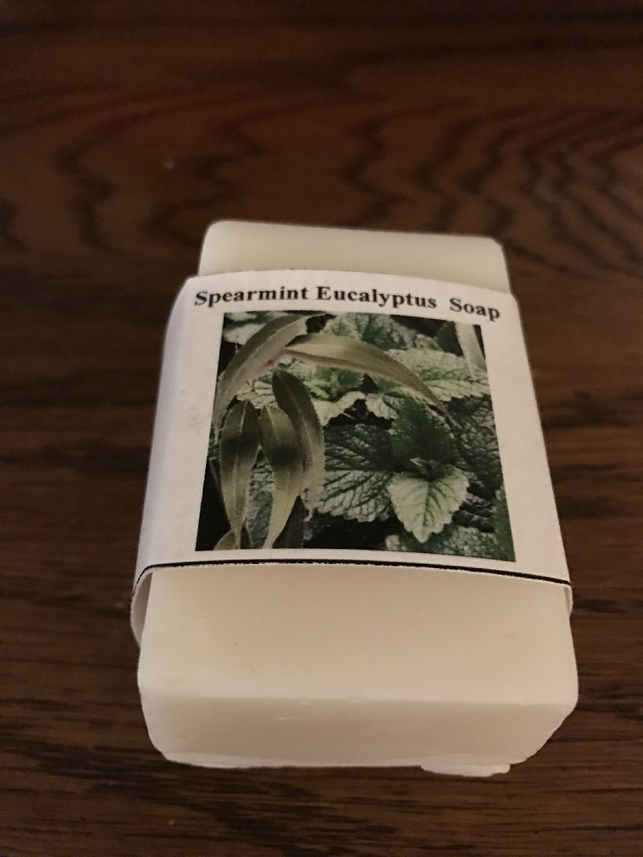 Spearmint Eucalypus Soap