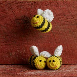 Two Beekeepers Crochet Bees 1