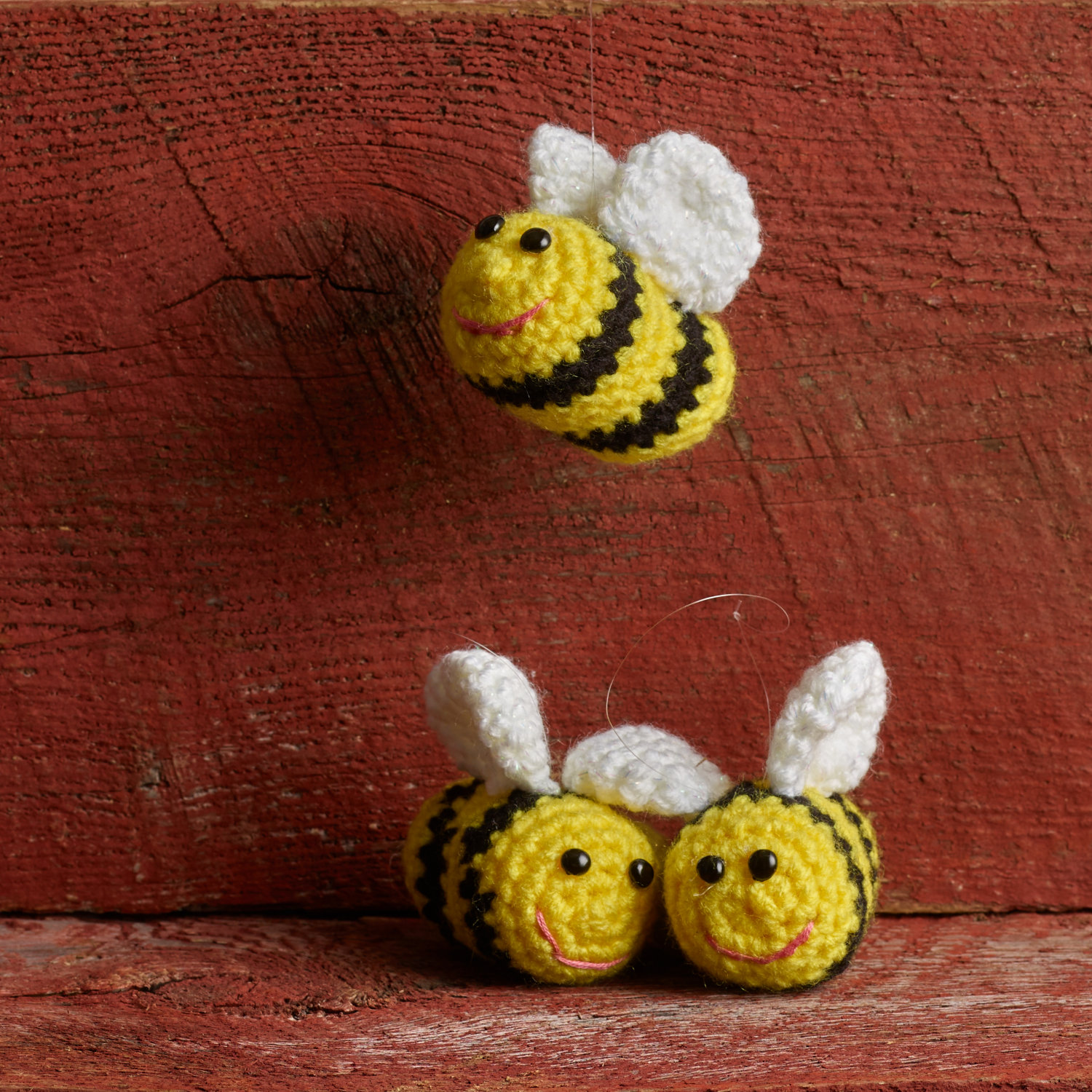Two Beekeepers Crochet Bees 1